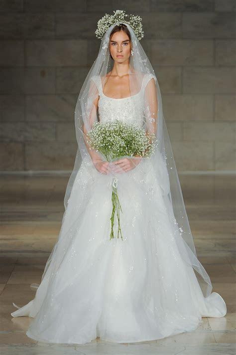 Reem Acra's Regal 2018 Bridal Collection   Chic Vintage
