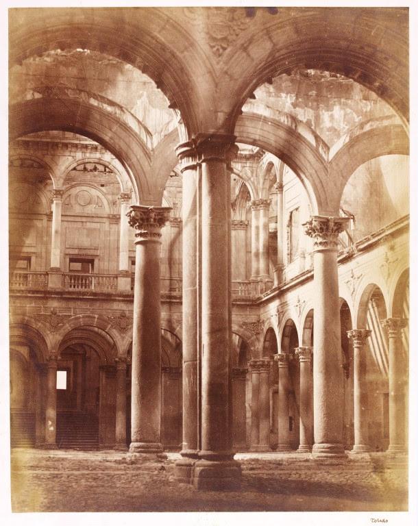 Alcázar de Toledo hacia 1857. Fotografía de Charles Clifford. Victoria and Albert © Victoria and Albert Museum, London