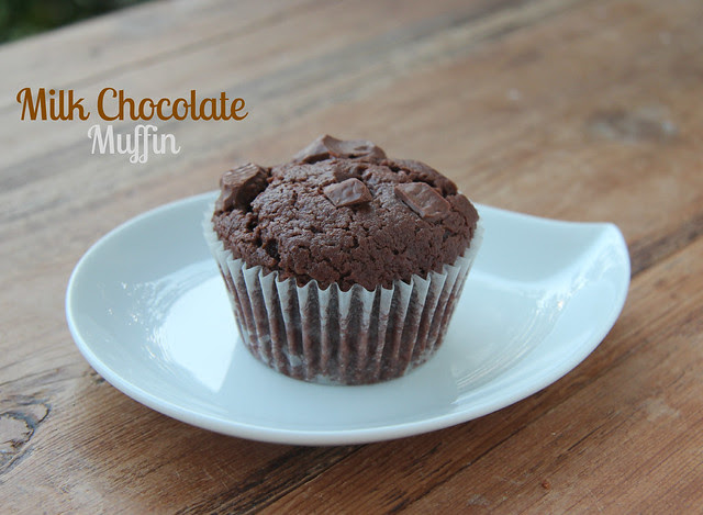 Milk Chocolate Muffin (Donna Hay)