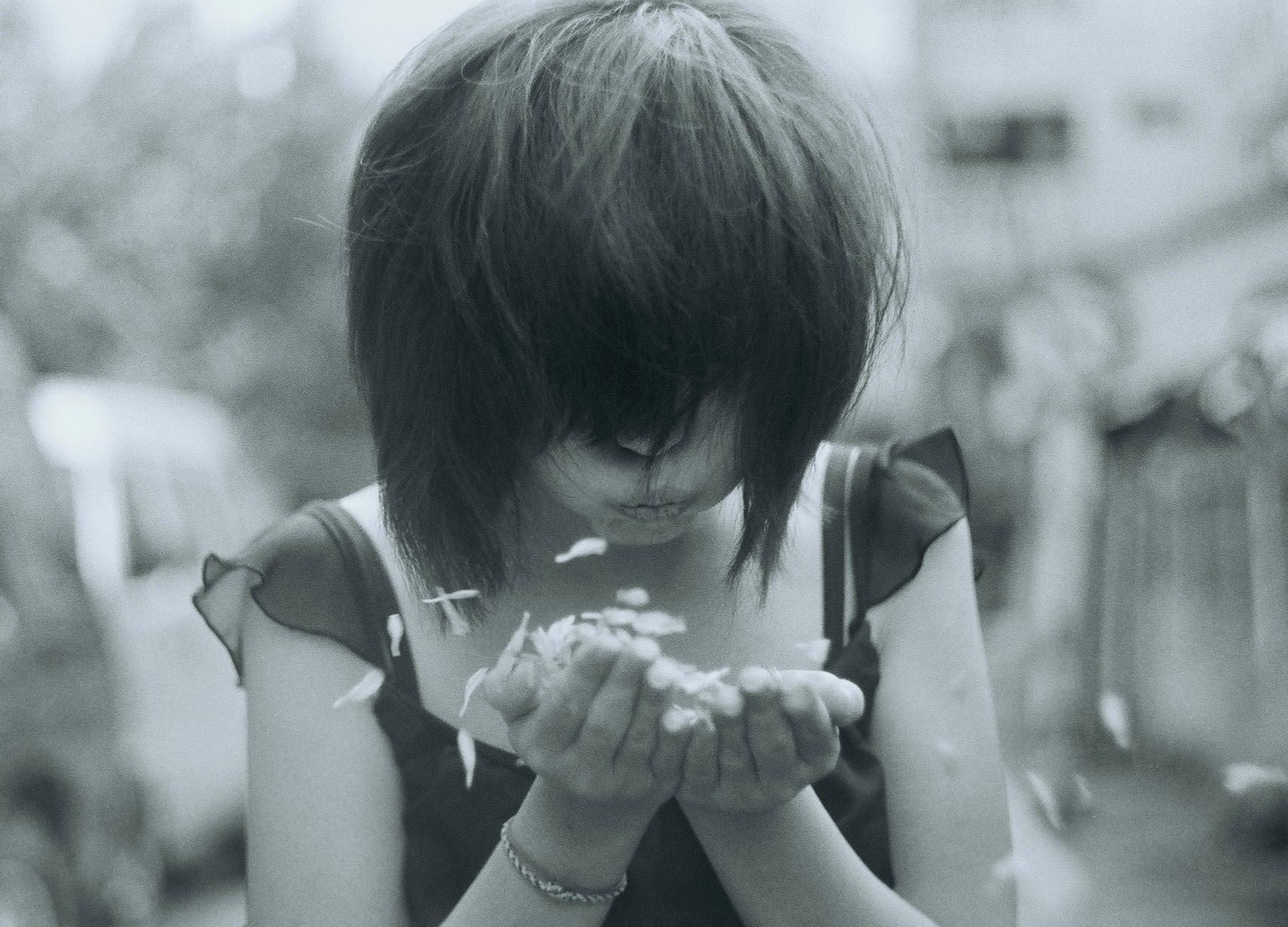 フリー画像 人物写真 女性ポートレイト アジア女性 ショートヘアー