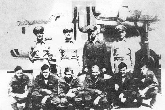 Crew of Ginger - WWII B-24 shot down