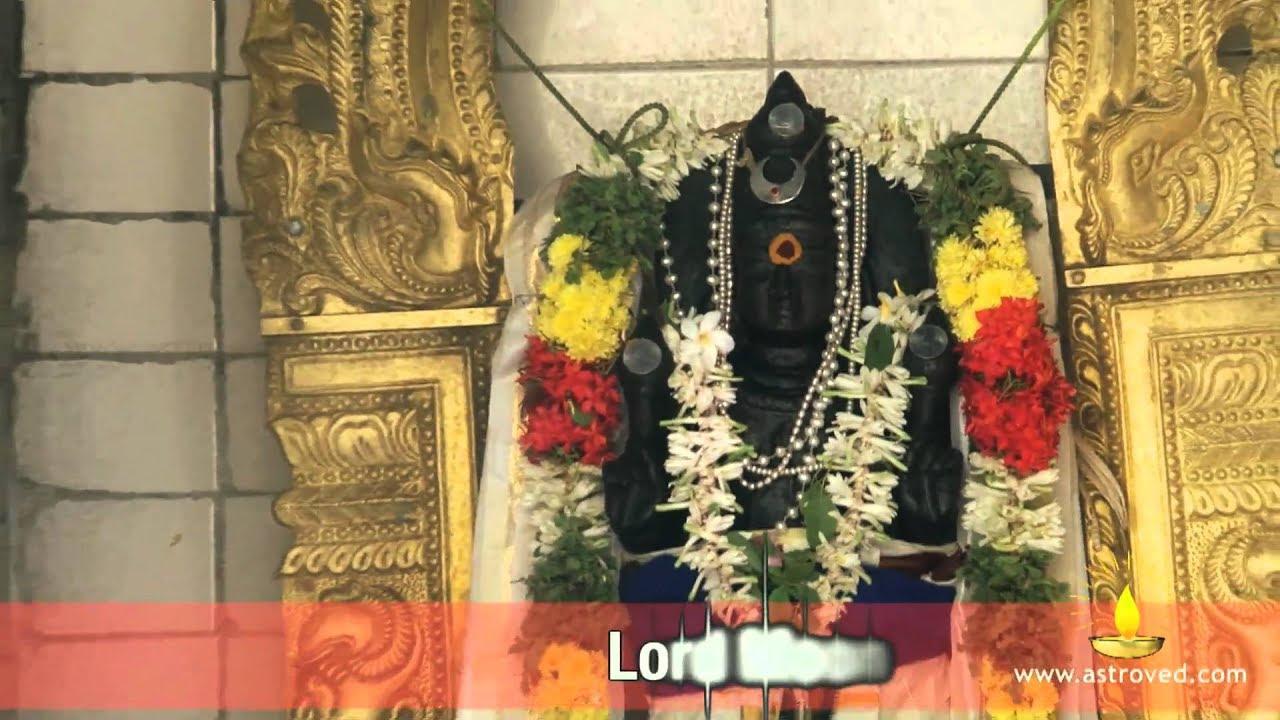 Thingalur Kailasanathar Temple - Navagraha Temple Darshan (Lord Chandran-Moon Stalam)