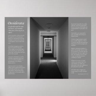 Desiderata - Receding Corridor