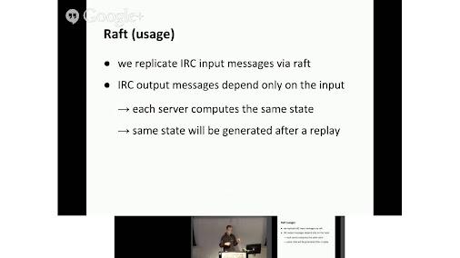 RobustIRC — IRC without Netsplits