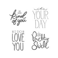 Big On You Photopolymer Stamp Set