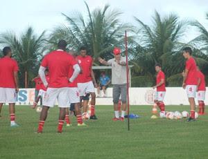 América-RN - Roberto Fernandes - jogadores (Foto: Canindé Pereira/Divulgação)