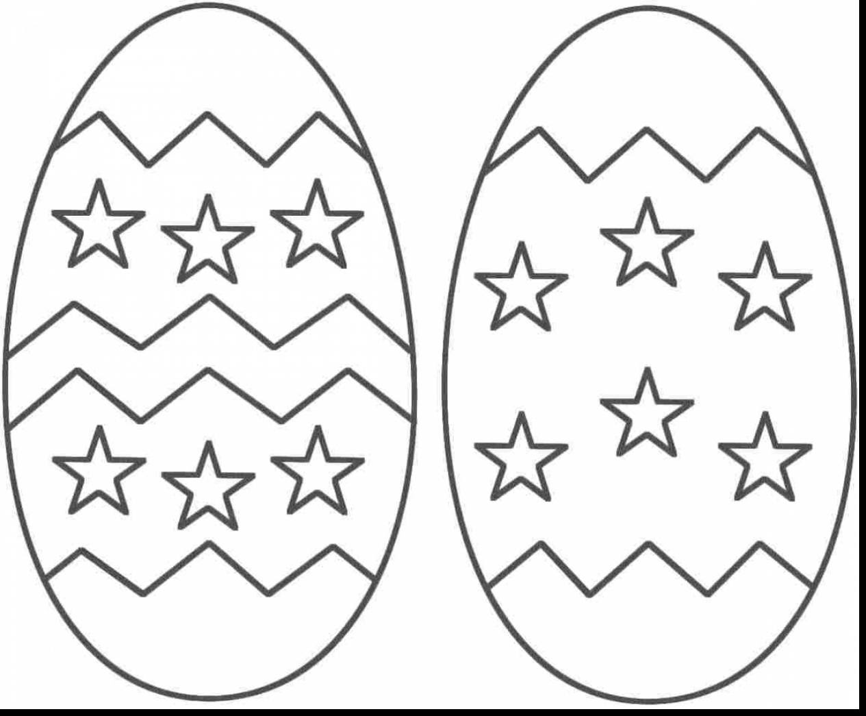 Easter Egg Coloring Pages For Kids at GetDrawings | Free ...