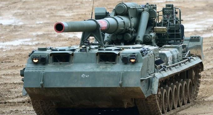 Rússia moderniza canhão que pode disparar munição nuclear