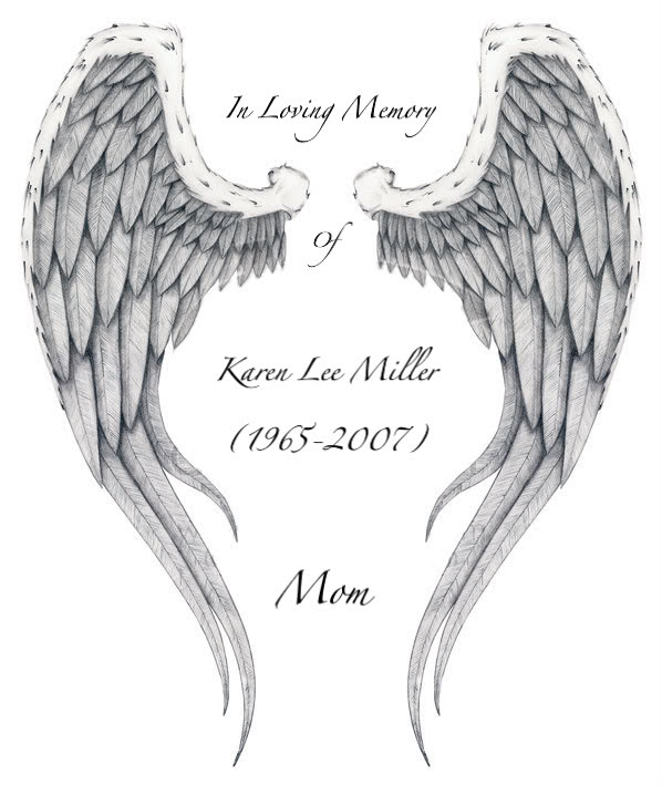 Gre Ink Memorial Angel Wings Tattoo On Arm