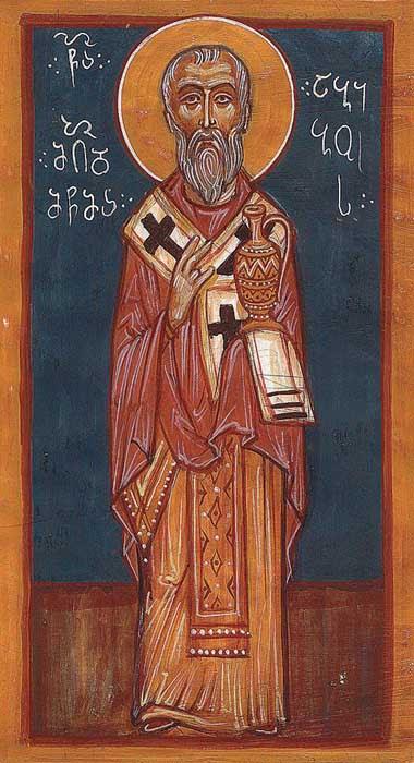 ST. ABIDU Bishop of Nekressi, Georgia