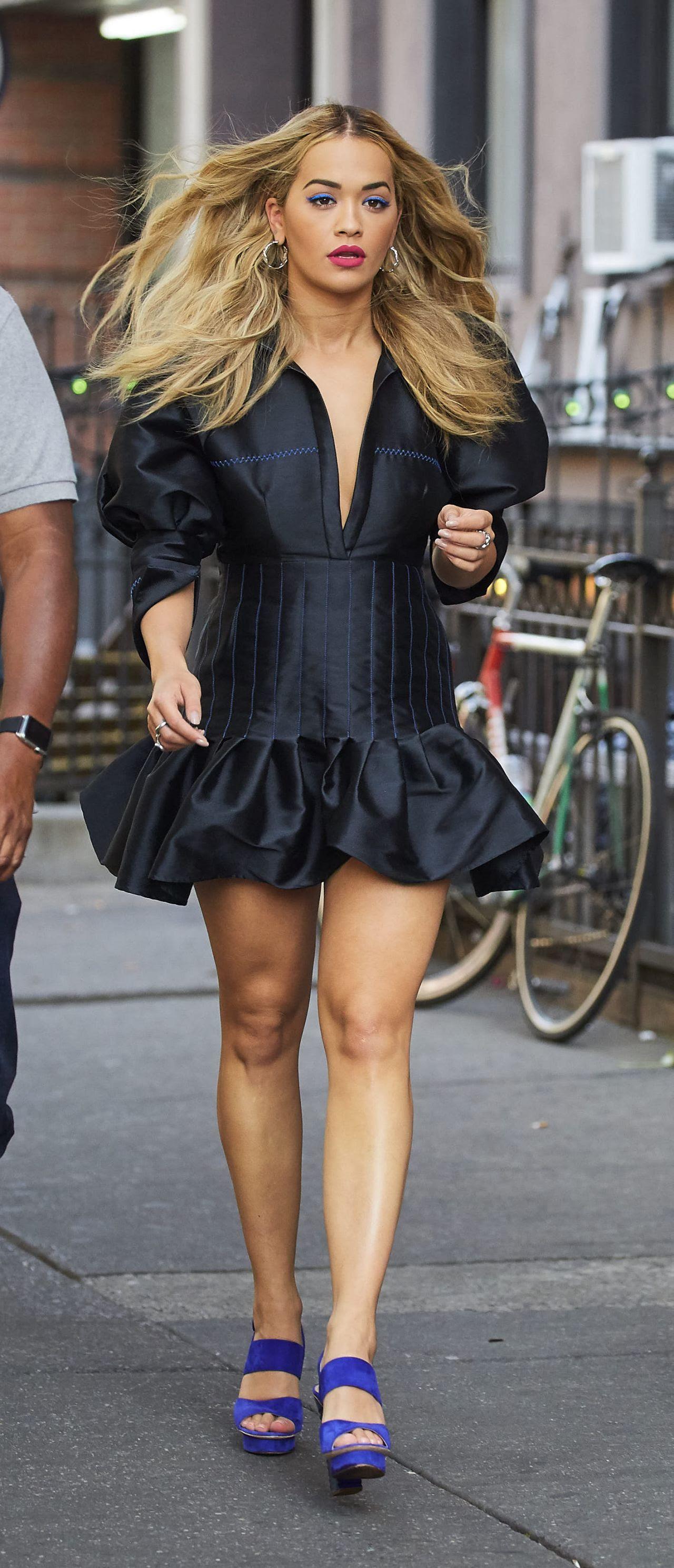 rita ora classy fashion  new york city 7242016
