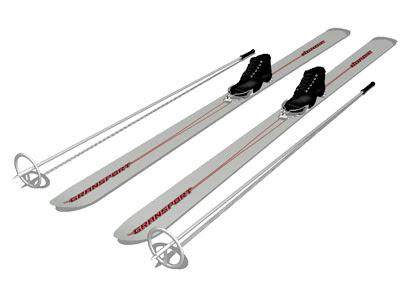 MMD Ski Boots and Ski Pole