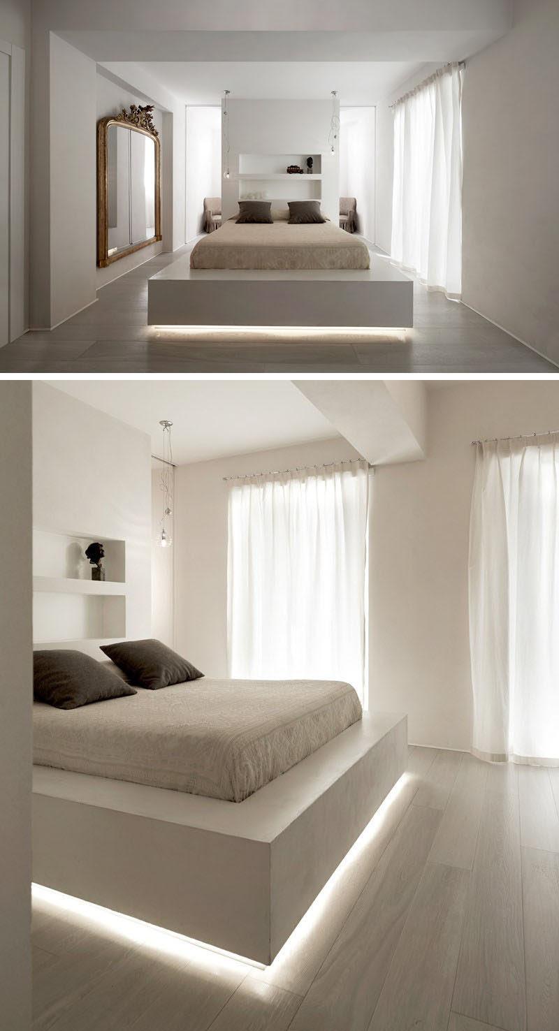 9 Examples Of Beds With Hidden Lighting Underneath ...