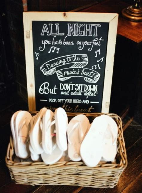 Cheap flip flops for wedding guests   How Forever Feels
