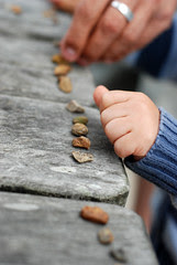 Zen stones grabbed