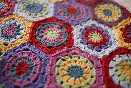Hexagon Blanket (3)