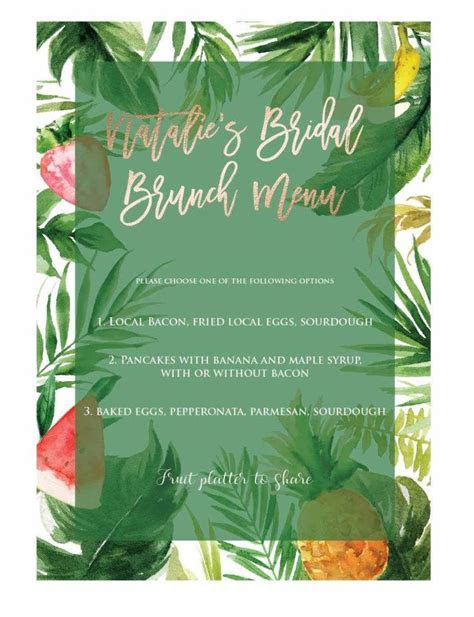 10  Brunch Menu Designs   PSD   Free & Premium Templates
