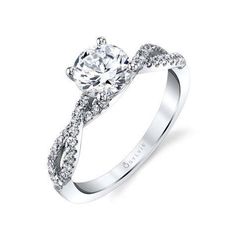 Celeste   Spiral Engagement Ring   Sylvie