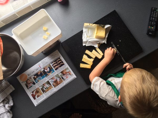 Busy Bakers Box Simple Butter Cookies for Fathers Day