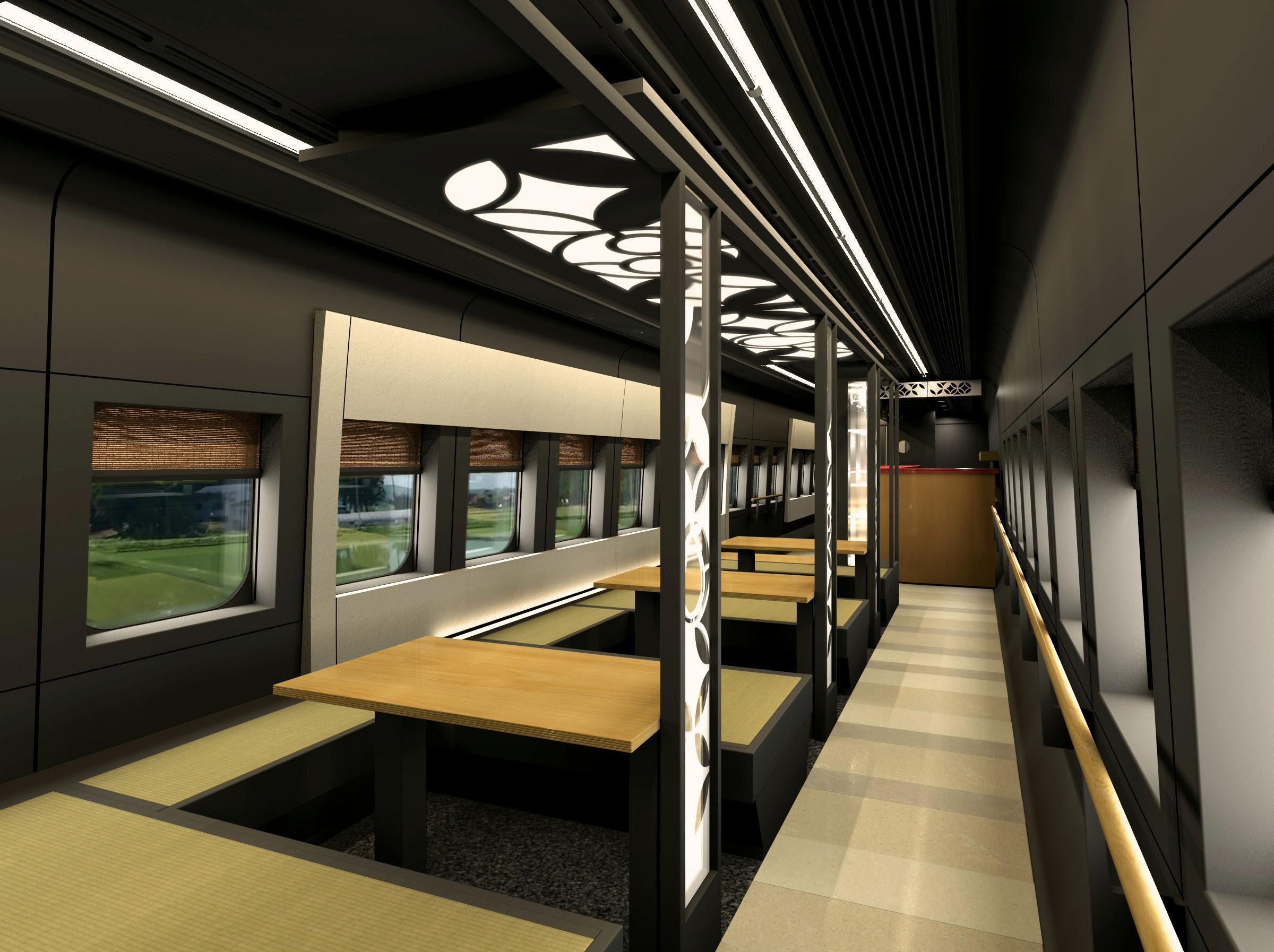 Yamagata bullet train to get foot baths, tatami   The ...