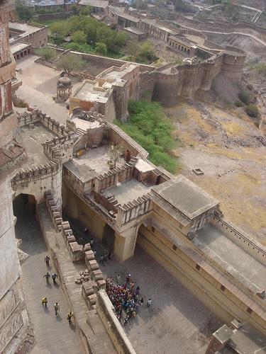 Mehrangarh's windy walls