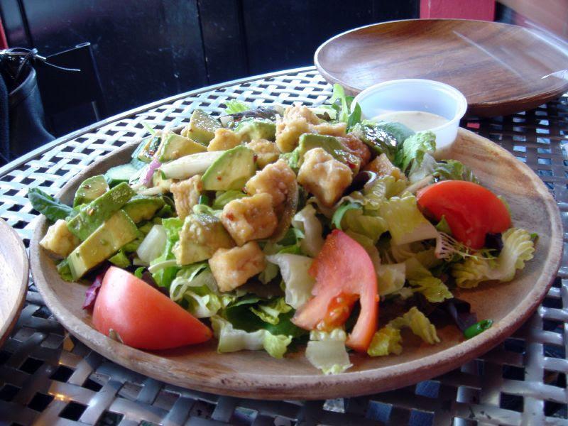 Tofu & Avocado Salad w/Maui Onion Dressing