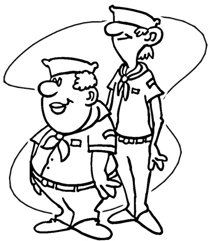 Wolf Cub Scout Coloring Pages Coloring Pages