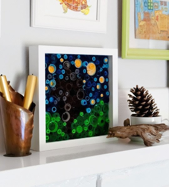 Easy Rolled Paper Art Pictures, Photos, and Images for Facebook, Tumblr, Pinterest, and Twitter