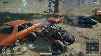 Type Of Vehicles You Will Find In PUBG Mobile part 1