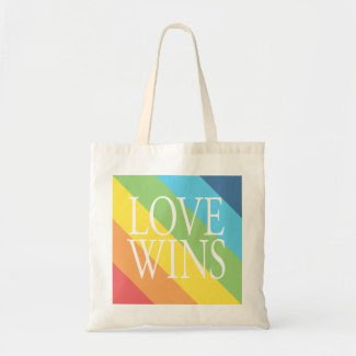 Love Wins Tote Bag