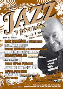 oficiální plakát Jazz v pivováře