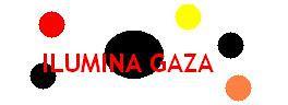 Logo Ilumina Gaza. Fuente: Primera Plana