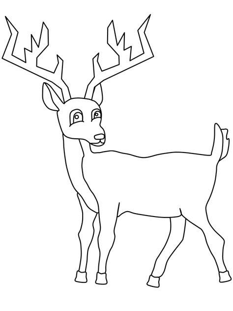 geyik boyama sayfalari yerigeldicom