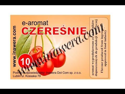 Revisión de aromas Inawera: czeresnie (cherry/cereza)