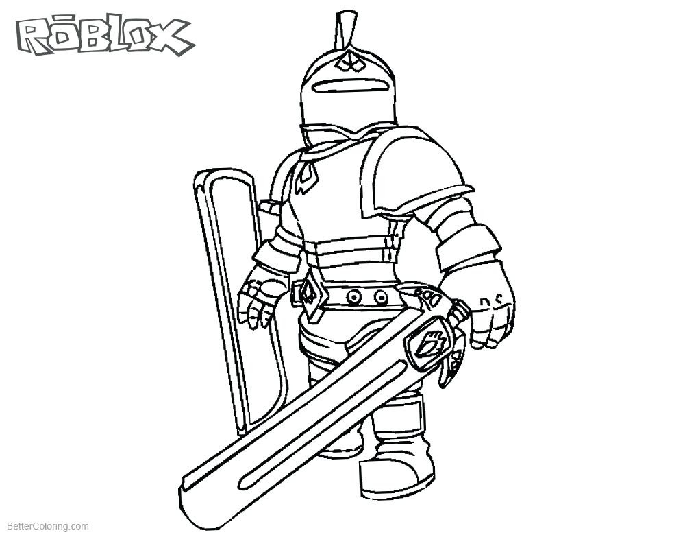 Roblox Coloring Pages at GetColorings.com | Free printable ...