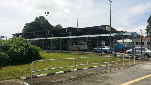 Kuala Lurah関所 ブルネイ側