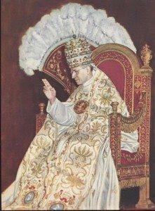 Pope Pius XII sedia gestatoria