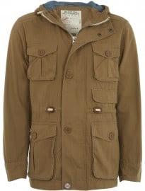 Burton Tobacco Hooded Worker Jacket