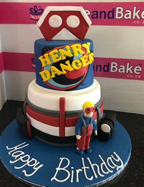 2 Tier Henry Danger ? Cake And Bake