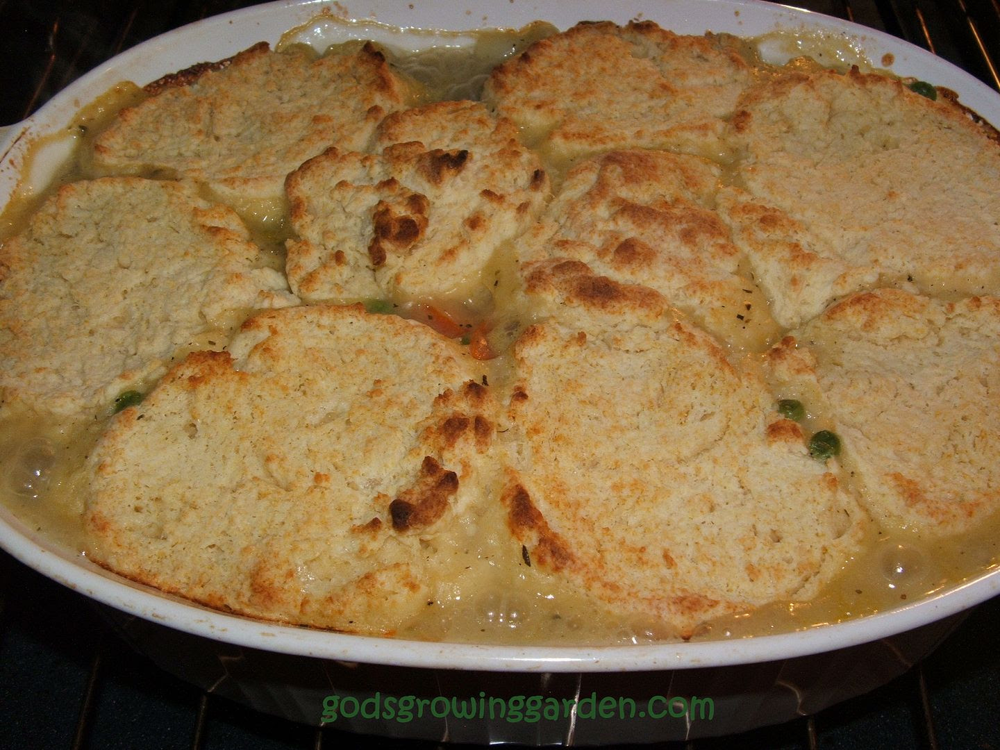 Springtime Chicken Pot Pie by Angie Ouellette-Tower for godsgrowinggarden.com photo 011_zps31ba15c2.jpg