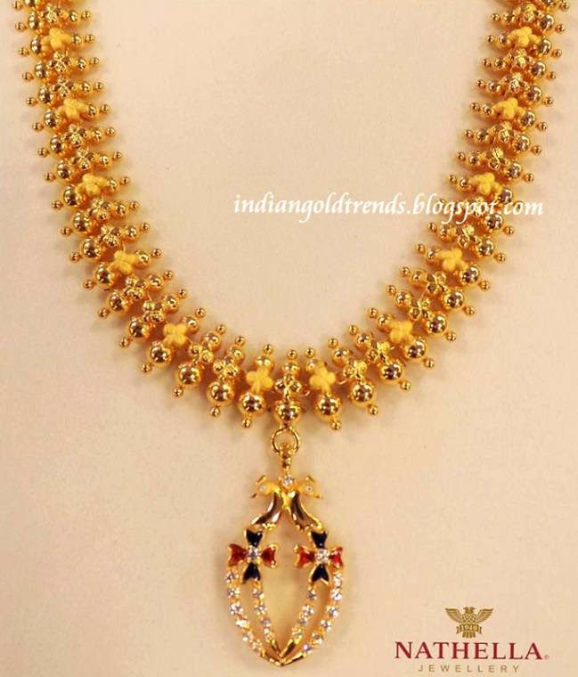 Kalyan Jewellers Gold Necklace Designs