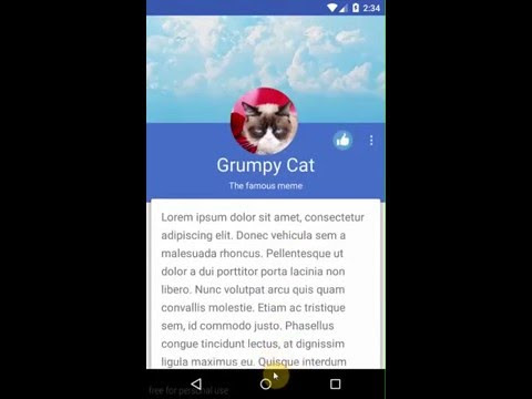 Android Tip: Custom CoordinatorLayout Behavior