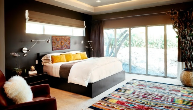 wandfarbe grau im schlafzimmer – 77 gestaltungsideen