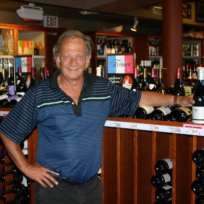 Max Baines, owner of Andrew Hilton Wines
