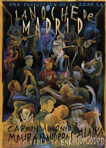 la Noche de Madrid by Mr. Lobo Lopez
