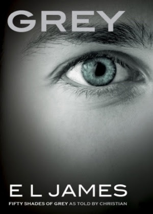 "Capa do livro ""Grey"", de E.L. James"