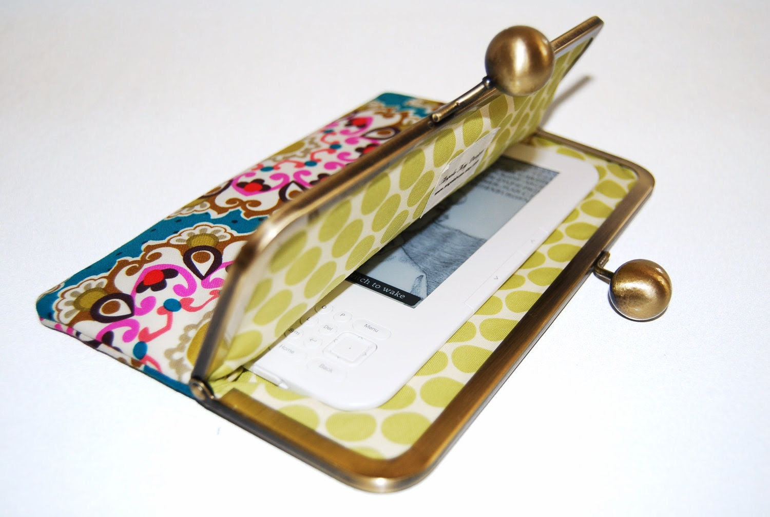 "Unique and Stylish eReader / Kindle / Sony / Nook Clutch Case ""Emmaline"""