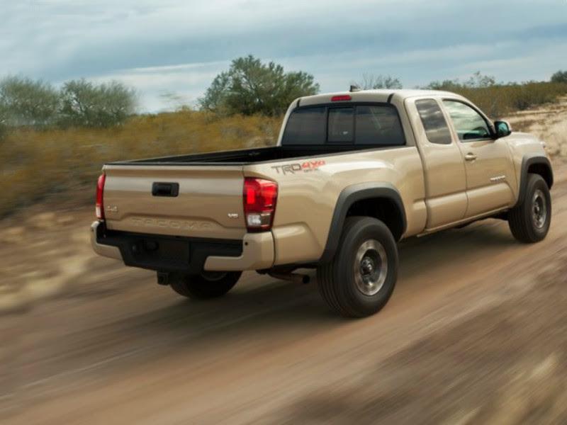 2016 Toyota Tacoma TRD Off-Road Reviews