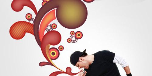 funny swirl illustrator