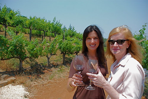 Barnett Vineyards - Jacquelyn and Carol